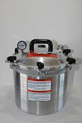 equipment canner pressure all american