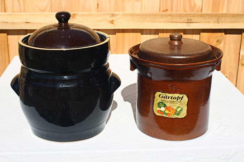 Sauerkraut Crock