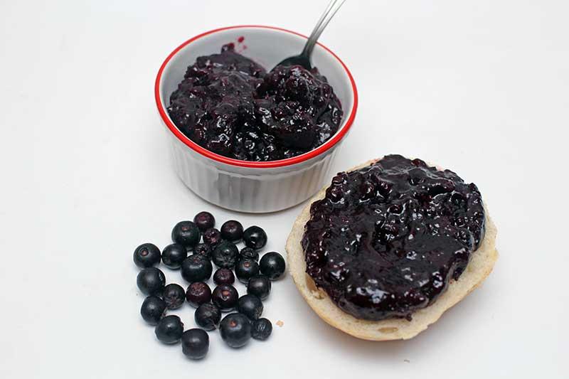 chokeberry jam. Black Bedroom Furniture Sets. Home Design Ideas