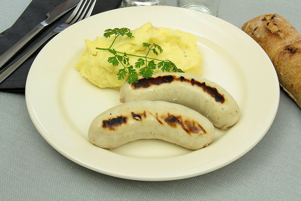 how to eat boudin blanc