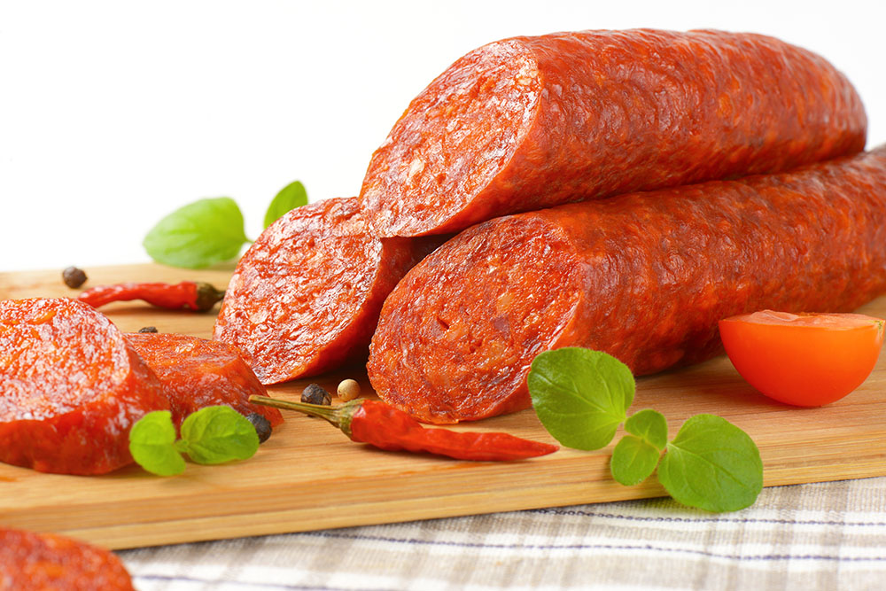 how to cook csabai sausage