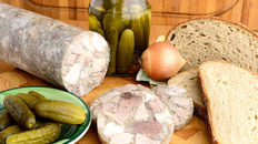 Silesian Head Cheese (Salceson Śląski)
