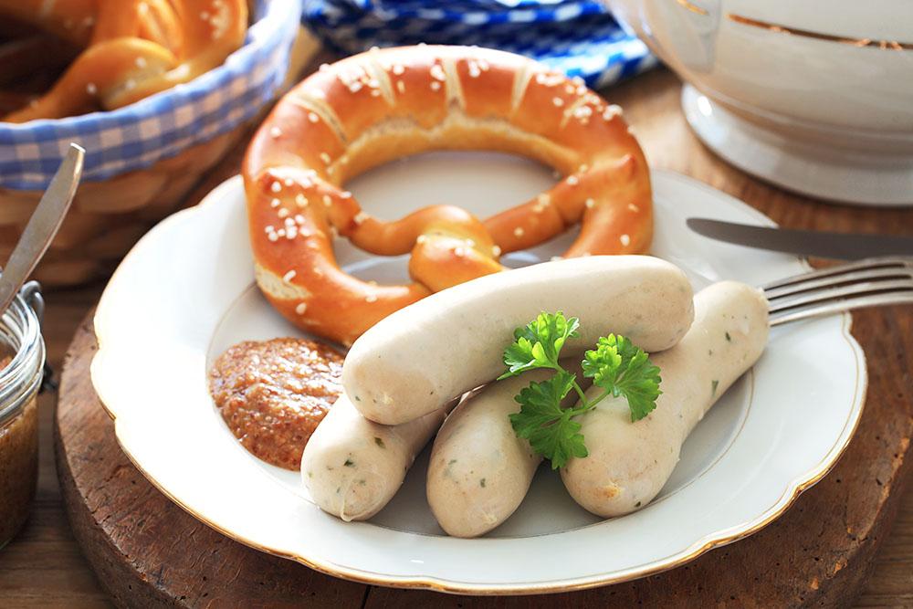 Münchener Weisswurst (Munich White Sausage)
