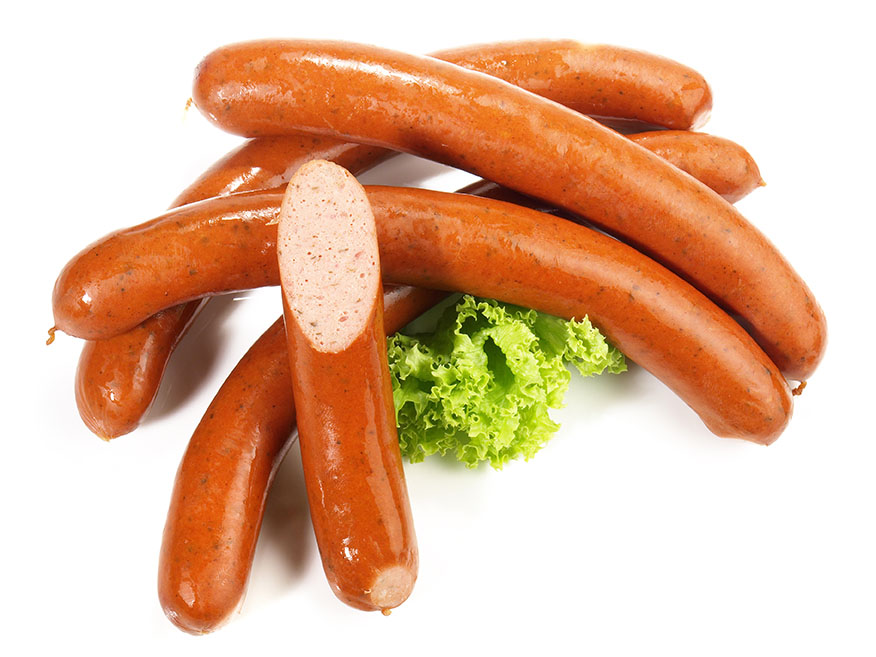 Recips With Hot Dog Sausages