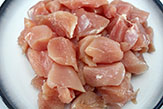 Chicken breast, cured