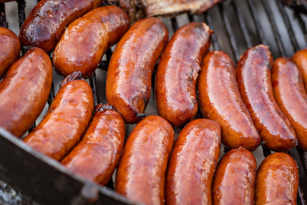 American Sausages and Sausage Recipes