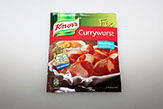 Knorr currywurst sauce.