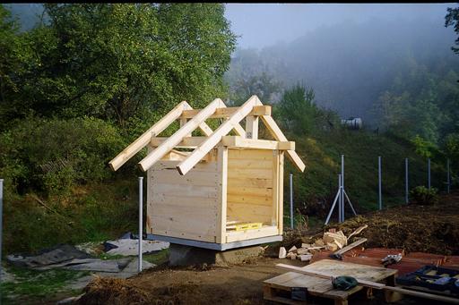 Smokehouse Construction