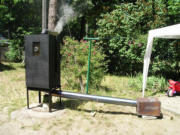how to build a smokehouse out of a refrigerator